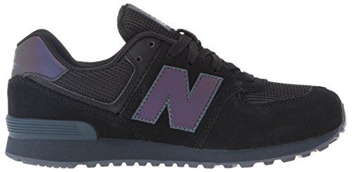 New Balance Unisex-Kinder 574 Sneakers Schwarz (Black)