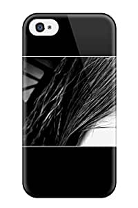Girl Artistic Feeling Iphone 4/4s On Your Style Birthday Gift Cover Case 3747081K23740745