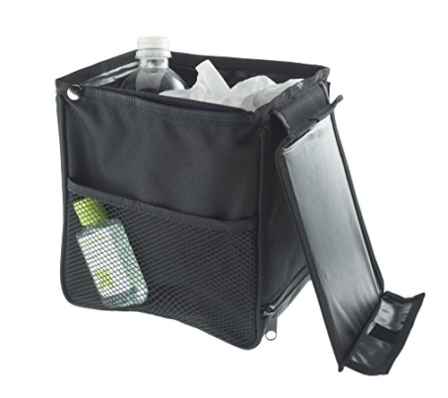 High Road TrashStand Leakproof and Weighted Car Trash Basket - Compact Size ()