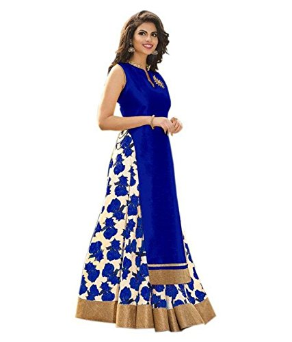 blue Cotton & Crush Lehenga Choli