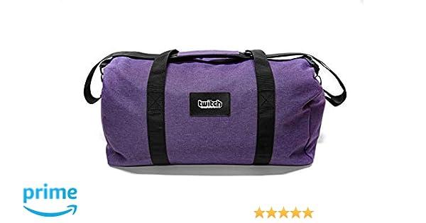 Amazon.com  Twitch Duffel Bag Purple  Twitch Interactive Inc. d3eaf560c64bf