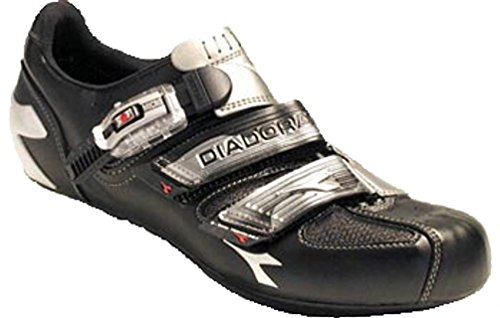 Diadora Attack Road Shoe Size 41 Black - Attack Road Cycling Shoe