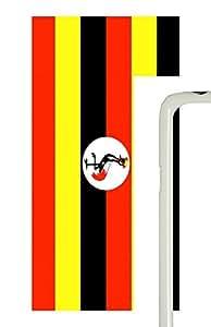 Samsung Galaxy S5 Uganda Flag PC Custom Samsung Galaxy S5 Case Cover White