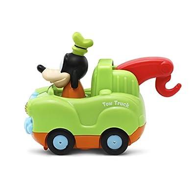 VTech Go! Go! Smart Wheels - Disney Goofy Tow Truck: Toys & Games