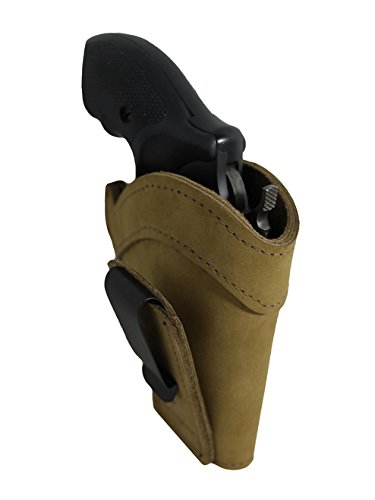 New Barsony Olive Drab Leather Tuckable IWB Holster for ROSSI 461; 462 .357 right