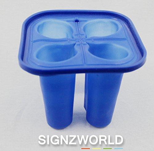 Molde de silicona para chupito cristal / Vino Taza 3d sublimación ...