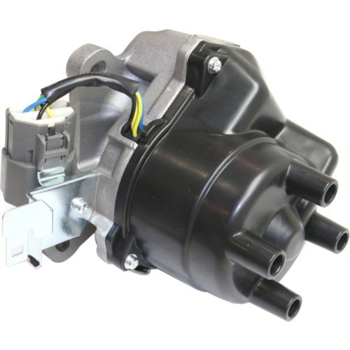 1997 Acura Cl Distributor - Evan-Fischer EVA2718081521 Distributor for 1996-1997 Honda Accord 2.2L 4Cyl Engine Includes Cap and Rotor