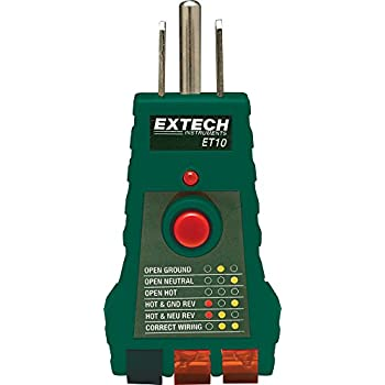 extech wiring diagrams    extech    ct80 ac circuit load tester with gfci afci     extech    ct80 ac circuit load tester with gfci afci