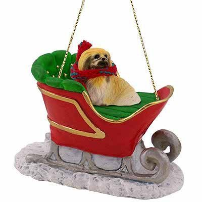 Conversation-Concepts-Pekingese-Sleigh-Christmas-Ornament-for-Dog-Lovers
