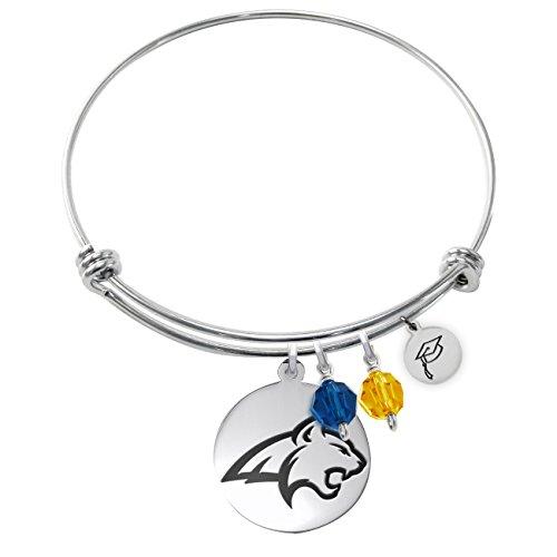(Montana State University Bobcats Adjustable GRADUATION Bracelet With Round Charm)
