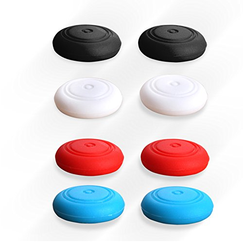 8x Silicone Thumb Stick Caps Grip Gamepad Analog Joystick for Nintendo Switch NS Controller Joy-Con ThumbStick (4 color)