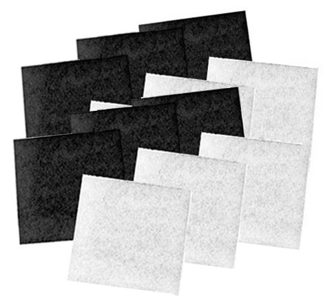Coarse Poly & Carbon Replacement Pads for Pondmaster 1000 & 2000 Filters, Six Pack Coarse Poly Filter Pad