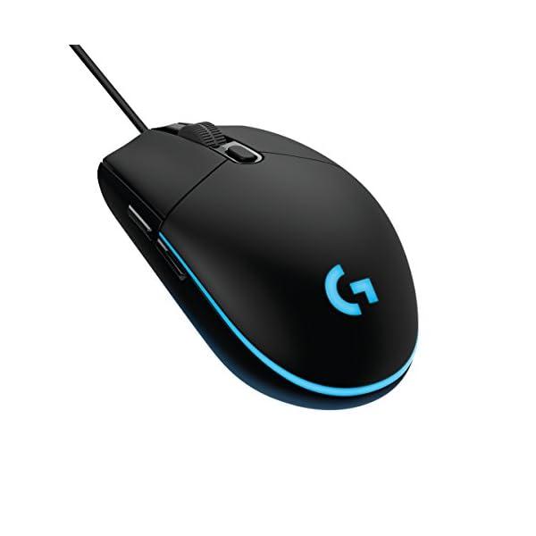 Logitech G203 Prodigy, Ratón óptico para Gaming con Cable, 8.000 DPI, LED Personalizable con 16,8 M Colores 41ErJVBJ7HL