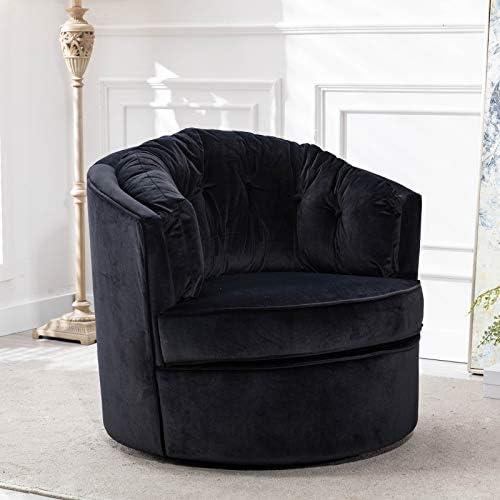 Cheap Modern Akili Swivel Accent Chair Barrel Chair living room chair for sale