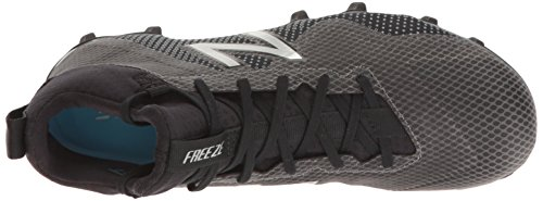 New Balance Men's Freeze v1 Lacrosse Cleat Black/Silver EEhuPoVo