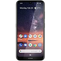 "NOKIA 3.2 Android Smartphone, 3GB RAM, 64GB Memory, 6.26"" HD+ screen, Fingerprint Sensor - Black"