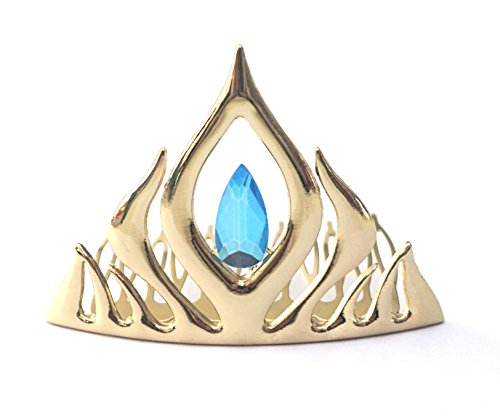 Kuzhi Frozen Elsa Tiara Coronation Crown (Gold)