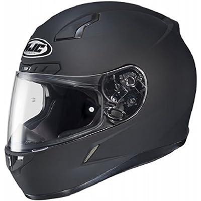 HJC CL-17 Full-Face Motorcycle Helmet (Matte Black, X-Large): Automotive