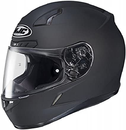 Hjc 824 614 Cl 17 Full Face Motorcycle Helmet Matte Black Large