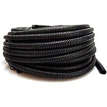 "Wire Loom Black 100' Feet 3/8"" Split Tubing Hose Cover Auto Home Marine"