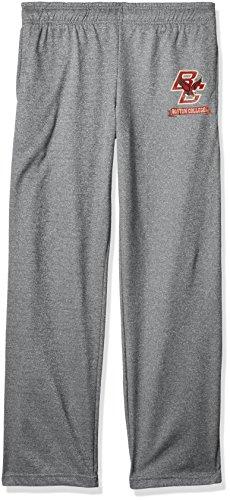 NCAA Boston College Eagles Men's Poly Fleece Pants, Large, Dark Heather - College Fleece