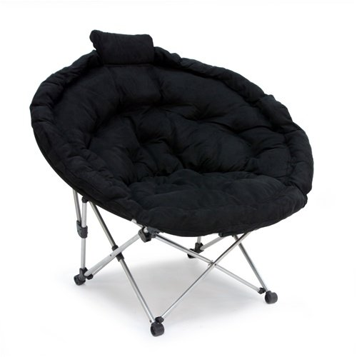Extra large moon chair home and office chairs for Large wicker moon chair