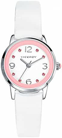 Leather Girl Watch Viceroy 46904-05 White Quartz
