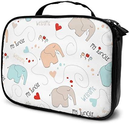The Baby Elephant ハイエンドのファッションシンプルで絶妙なファッショナブルなファッショナブルな化粧バッグ大容量人間化設計ポータブル