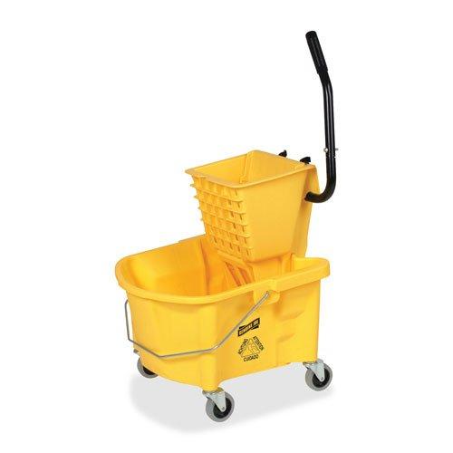 splash guard mop bucket wringer - 2
