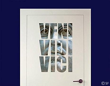 WandTattoo No. sf799 VENI, Vidi, Vici Italia Sprüche Caesar ...