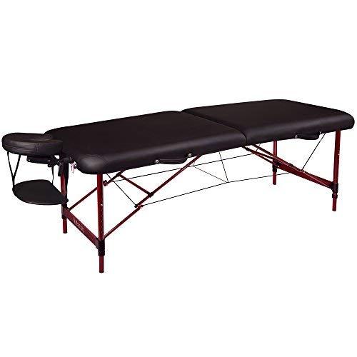 Master Massage Zephyr Lightweight Portable Massage Table Package, Black from Master Massage