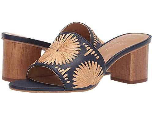 Jack Rogers Women's Bettina Mid Heel Midnight/Tan 7 for sale  Delivered anywhere in USA