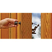 GH Gate Products EZGT001 Gate Latch Pull, Black, Adjustable