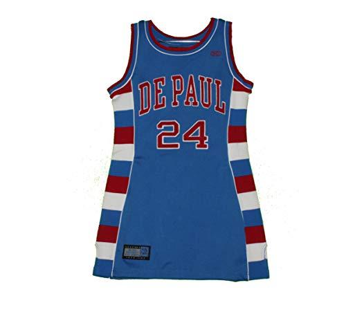 85b8629b3 DePaul Blue Demons - Vintage Mark Aguirre Throwback Jersey Dress