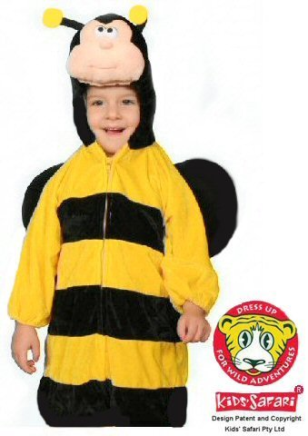 Safari Plush Costume Bee Costume - Large