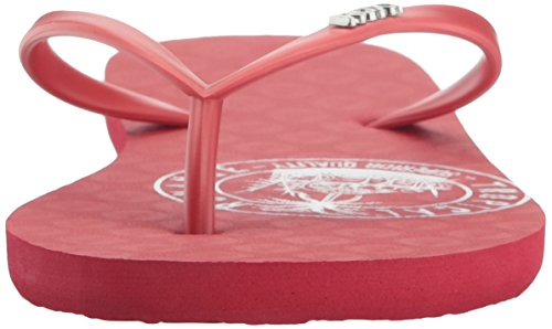 Flop Red Stamp Women's Viva Flip Roxy Clay wOzIB