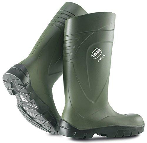 Bekina , Chaussures de sécurité pour homme - Vert - Vert, 40