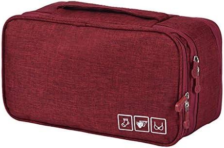 トラベルポーチ収納バッグ 旅行一式バッグ、荷物下着仕上げバッグ、防水透湿性、大容量、乾湿分離、荷物収納バッグ、出張、海辺、旅行 (Color : D)