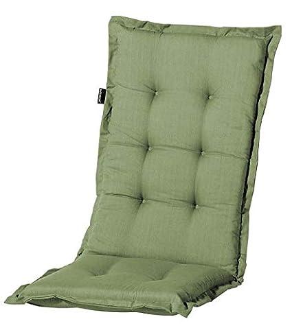 Auflagen für Hochlehner Sessel 123 x 50 cm Madison Tobias green grün Sitzkissen