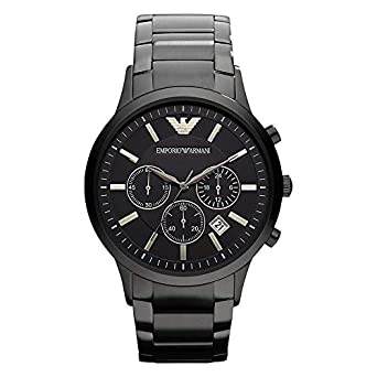 ea3c736f8ba3 Amazon | エンポリオ・アルマーニ メンズ腕時計 クラシック クロノグラフ AR2453 並行輸入 | 並行輸入品・逆輸入品・中古品(メンズ)  | 腕時計 通販