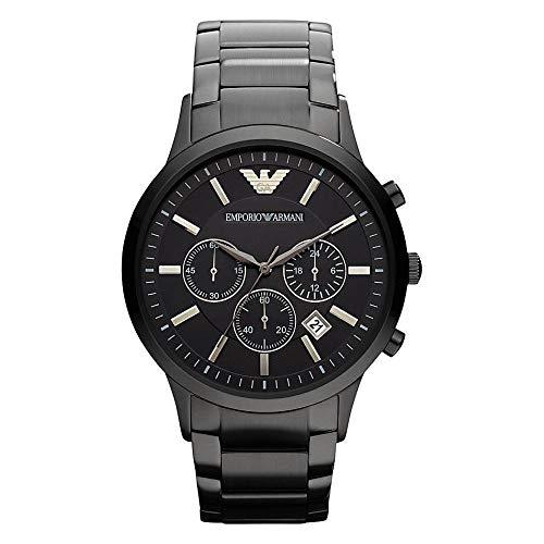 half off 9c3e7 4ed21 エンポリオ・アルマーニ メンズ腕時計 クラシック クロノグラフ AR2453 並行輸入