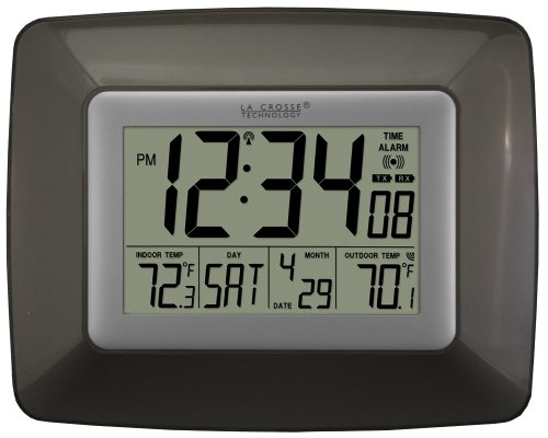 La Crosse Technology WS-8119U-IT-CHO Atomic Clock with (Cho Clock)