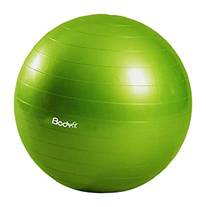 Body Fit BF-SPBAL65-VD Pelota Pilates 65 cm  Amazon.com.mx  Deportes ... d2282a229423