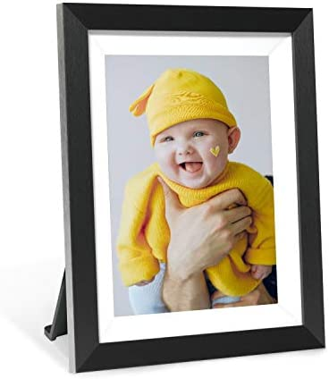 AEEZO Smart Digital Picture Frame 9.7 Inch IPS Touch Screen FHD 2K display, 16GB Storage, Auto-Rotate, WIFI Cloud Digital Photo Frame Free Unlimited Storage Easy Setup to Share Photos Videos via App
