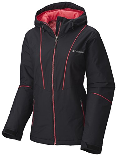 Columbia Women Snow Daze Thermal Coil Insulated Hooded Winter Jacket