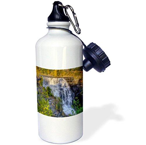 3Drose Wb 206765 1 Canada  Ontario  Thunder Bay  Kakabeka Falls Park  Kakabeka Falls Sports Water Bottle  21 Oz  Brown