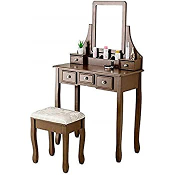 Amazon Com Mecor Makeup Vanity Table Set Dressing Table