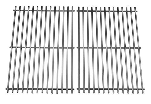 Wondjiont Stainless Steel Cooking Grid, Replacement for Select Gas Grill Models by Char-Broil, Brinkmann, Charmglow, Broil-Mate, Grill Pro, Grill Zone, Sterling, Turbo, Grill Chef and ()