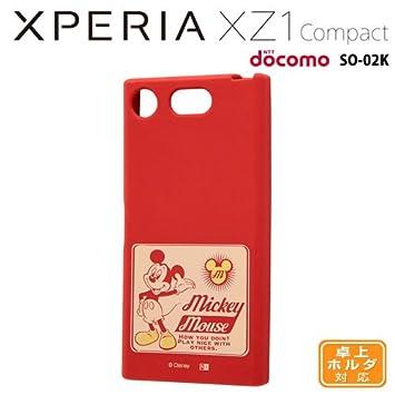 39efb19486 Amazon | レイ・アウト Xperia XZ1 Compact(SO-02K)用 ディズニー ...