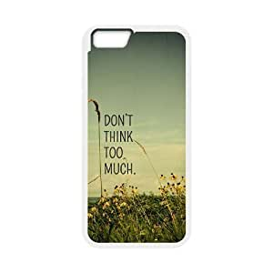 """Don't think too much Unique Design Case for Iphone6 Plus 5.5"""", New Fashion Don't think too much Case by mcsharks"""